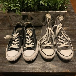 Converse Women's Sneakers Size 7 Lot of 2